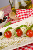 Mediterranean appetizer Royalty Free Stock Images