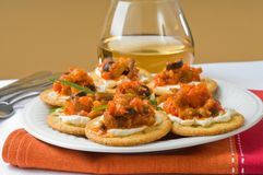 Mediterranean Appetizers Stock Photography