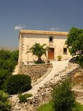 Mediterranean Architecture. Historical cottage on the spanisch island Mallorca Stock Image
