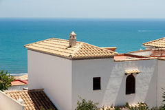 Mediterranean architecture Royalty Free Stock Photo
