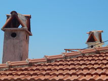 Mediterranean architecture in the Aegean Sea Royalty Free Stock Photography