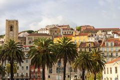 Mediterranean architecture of Lisboa Royalty Free Stock Photography