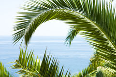 Mediterranean background Royalty Free Stock Photo
