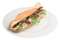 Mediterranean Baguette Royalty Free Stock Photo