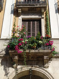 Mediterranean balcony Royalty Free Stock Photography