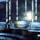 Mediterranean balcony Royalty Free Stock Photo
