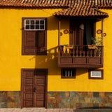 Mediterranean balcony in Spain Stock Photos