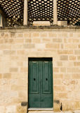Mediterranean Baroque Door Stock Photography
