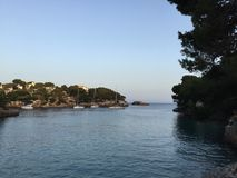 Mediterranean bay Royalty Free Stock Photos