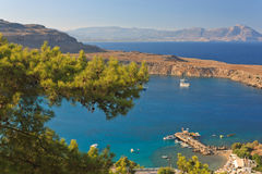 Mediterranean bay Royalty Free Stock Photo