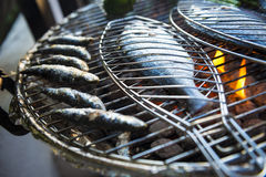 Mediterranean BBQ Stock Photography