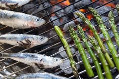 Mediterranean BBQ Stock Image