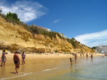 Mediterranean beach Stock Photography