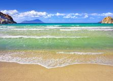 Mediterranean Beach Stock Photography