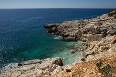 Mediterranean beach Stock Image