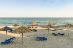 Mediterranean beach resort Stock Image