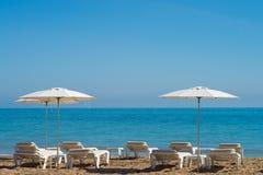Mediterranean beach Royalty Free Stock Image
