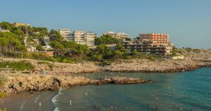 Mediterranean beach Royalty Free Stock Photos
