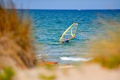 Mediterranean beach in summer Stock Photo