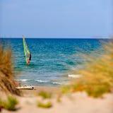Mediterranean beach in summer Royalty Free Stock Photos