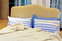 Mediterranean bed Stock Photo