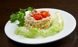 Mediterranean beef  salad Royalty Free Stock Photography