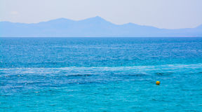 Mediterranean Blues Royalty Free Stock Photo