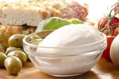 Mediterranean breakfast Royalty Free Stock Photos
