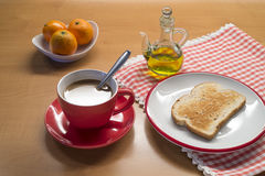 Mediterranean breakfast Stock Image