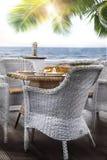 Mediterranean breakfast Royalty Free Stock Photography