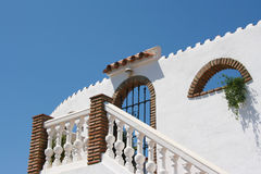 Mediterranean building Royalty Free Stock Photography