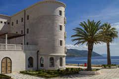 Mediterranean building. Exterior of the mediterranean style building in Peljesac, Croatia Stock Photography