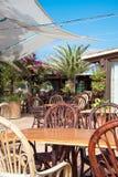 Mediterranean cafe. Stock Image
