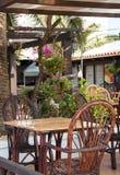 Mediterranean cafe. Stock Photography