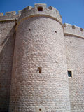 Mediterranean castle Royalty Free Stock Image