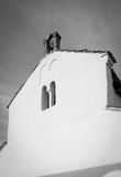 Mediterranean Catholic church in Croatia Stock Images