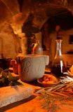 Mediterranean cellar Royalty Free Stock Image