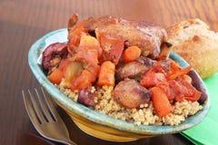 Mediterranean chicken thighs Royalty Free Stock Photo