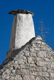 Mediterranean chimney on Adriatic island Brac Royalty Free Stock Photography