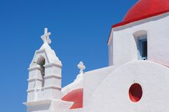 Mediterranean church Stock Photography