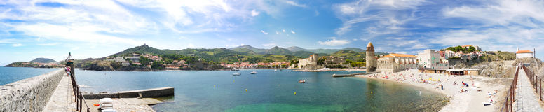 Mediterranean city Stock Images