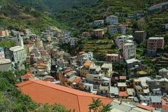 Mediterranean city Stock Photo