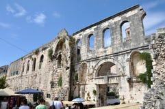 Mediterranean city of Split, Croatia Royalty Free Stock Photography