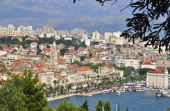 Mediterranean city Royalty Free Stock Photo
