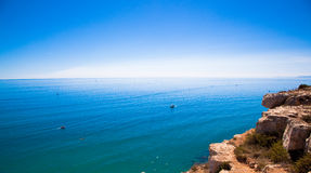Mediterranean Cliff Stock Images