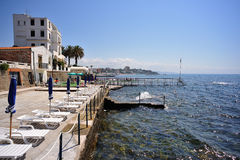 The Mediterranean Coast Royalty Free Stock Photo