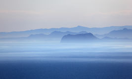 Mediterranean coast Royalty Free Stock Image