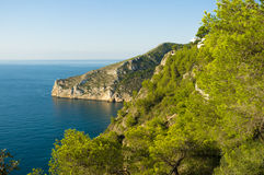 Mediterranean coast Royalty Free Stock Photography