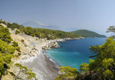 Mediterranean coast Royalty Free Stock Images