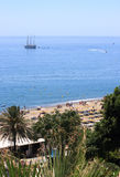 Mediterranean coast in Andalucia Royalty Free Stock Image